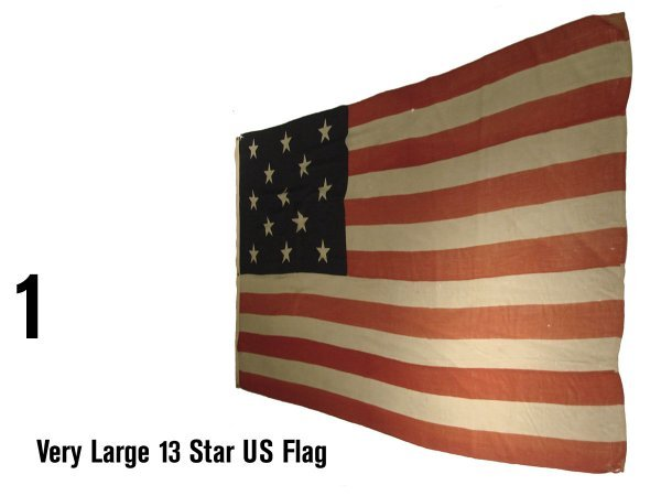 1: Very Large 13 Star US Flag