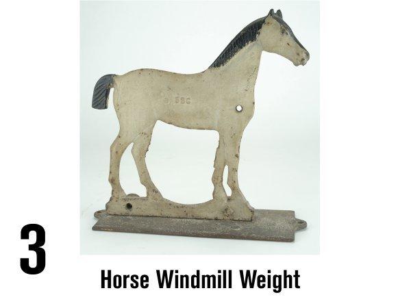 3: Horse Windmill Weight
