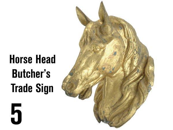 5: Horse Head Butchers's Trade Sign