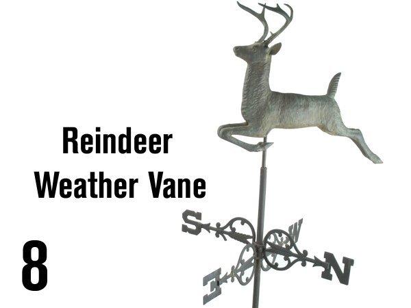 8: Reindeer Weather Vane