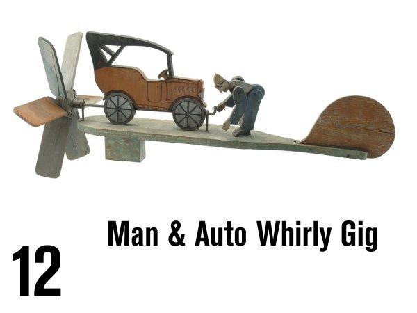 12: Man & Auto Whirley Gig