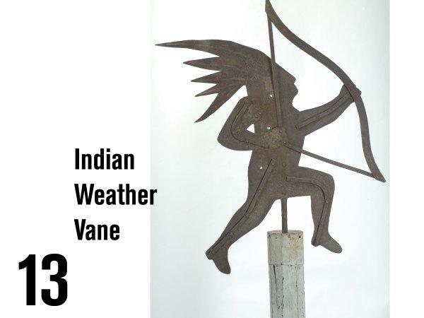 13: Indian Weather Vane