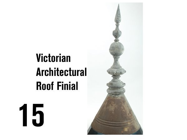 15: Victorian Architectural Roof Finial