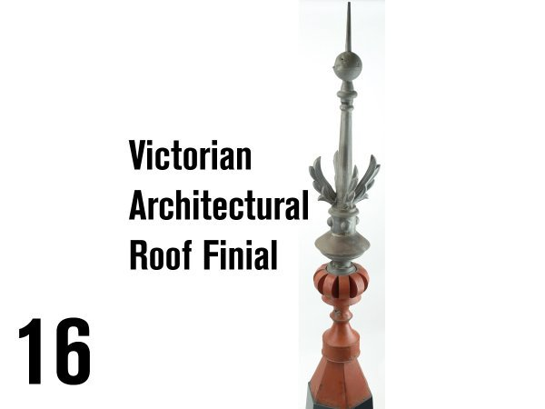 16: Victorian Architectural Roof Finial