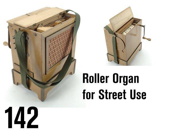 142: Roller Organ for Street Use