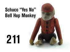 211 Schuco  Yes No Bell Hop Monkey