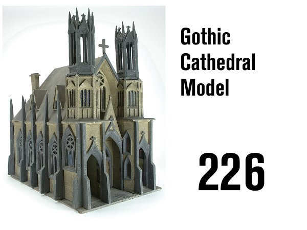 226: Gothic Cathedral Model