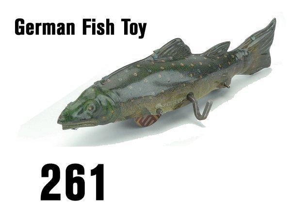 261: German Fish Toy