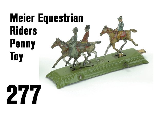 277: Meier Equestrian Riders Penny Toy