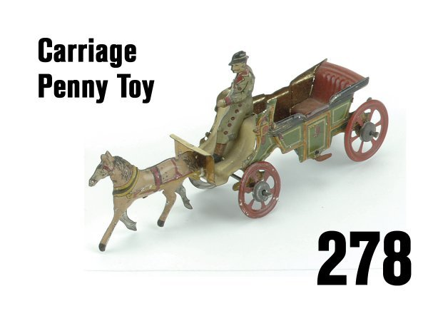 278: Carriage Penny Toy