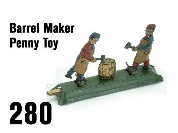 280: Barrel Maker Penny Toy