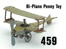 459 BiPlane Penny Toy