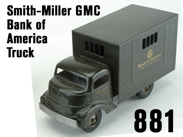 881: Smith-Miller GMC Bank of America Truck