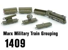 1409: Marx Military Train Grouping