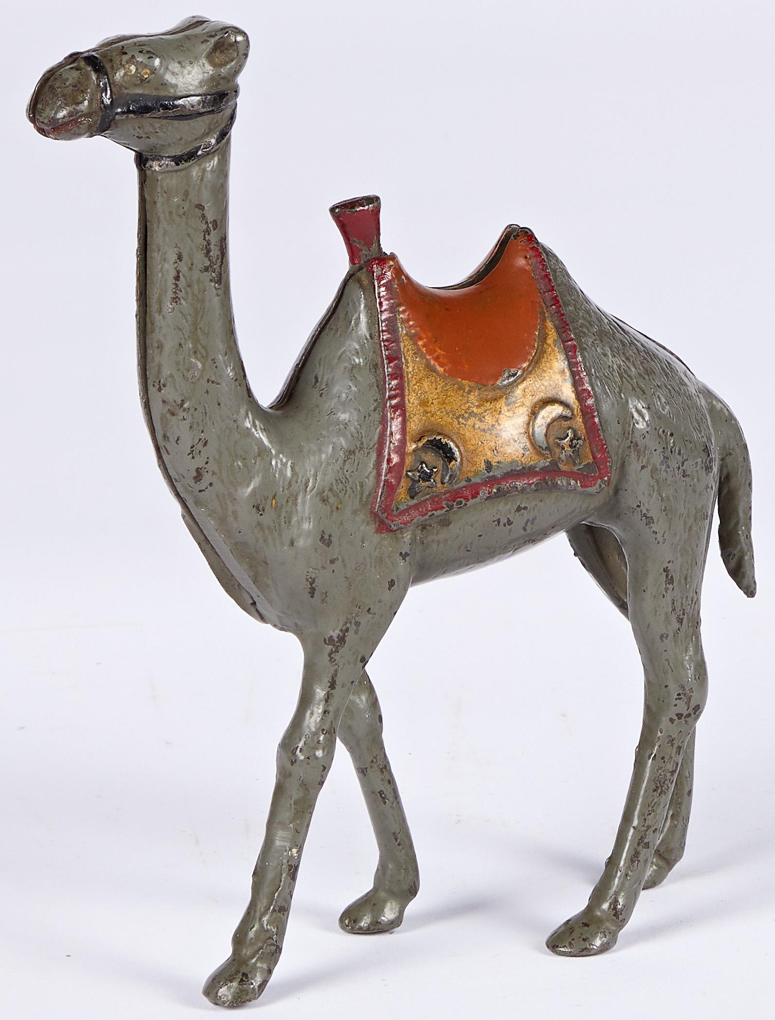 AC Williams cast iron camel still bank