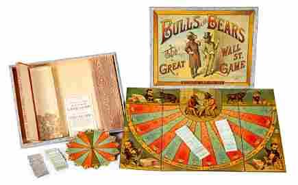 McLoughlin Bros.Bulls and Bears Wall Street Game