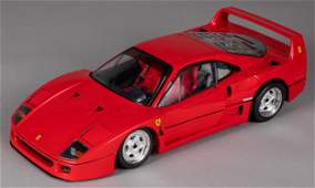 Pocher model of a Ferrari F40