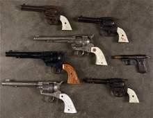 Collection of cap guns