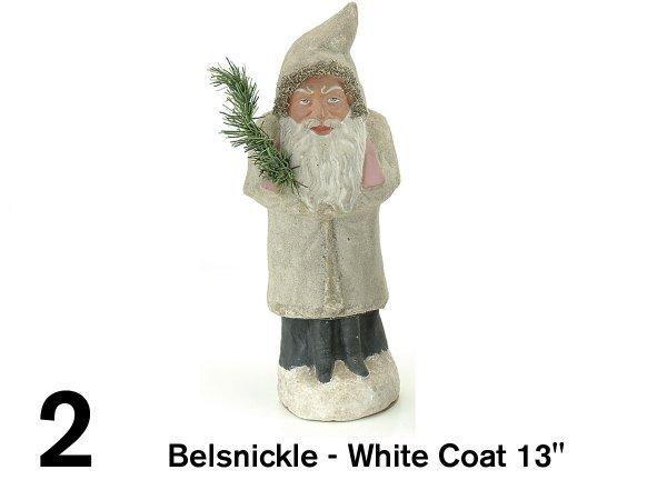 "2: Belsnickle-White Coat 13"""
