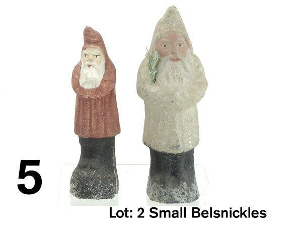 5: Lot: 2 Small Belsnickles