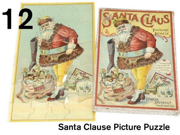 12: Santa Clause Picture Puzzle