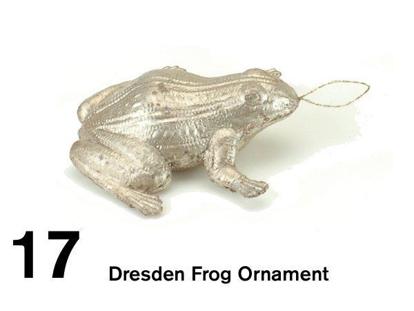17: Dresden Frog Ornament