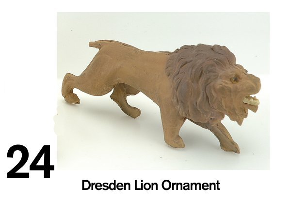 24: Dresden Lion Ornament