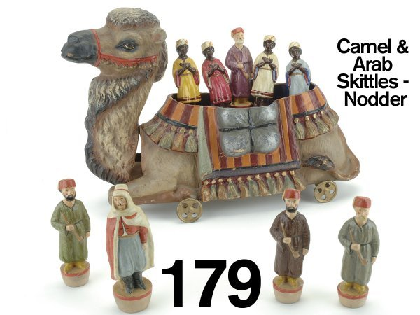 179: Camel And Arab Skittles-nodder