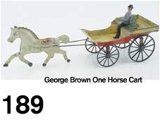 189 George Brown One Horse Cart