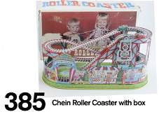 385: Chein Roller Coaster with box