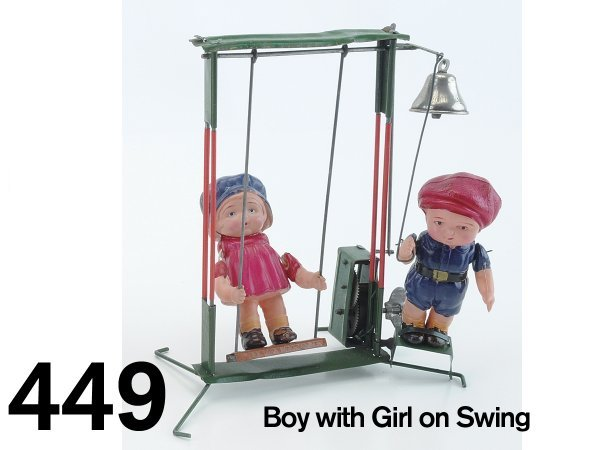 449: Boy with Girl on Swing