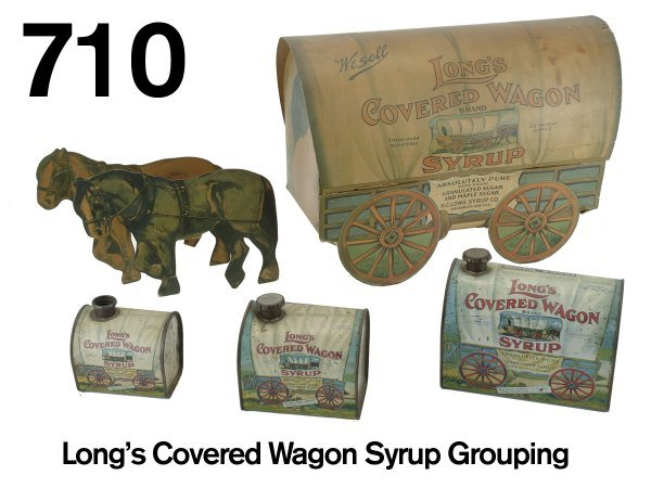 710: Long's Covered Wagon Syrup Grouping