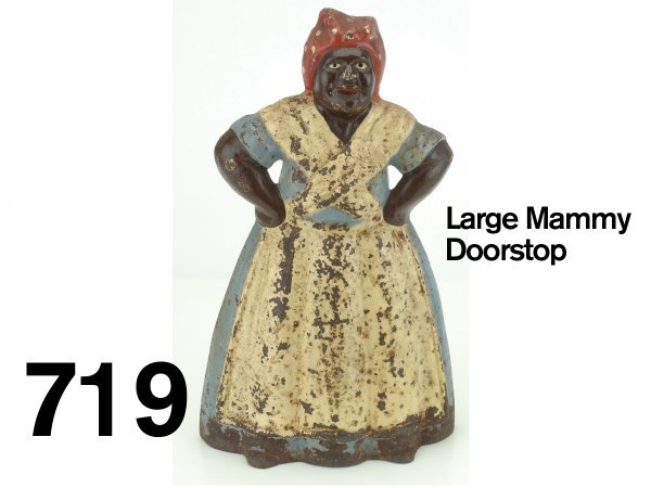 719: Large Mammy Doorstop