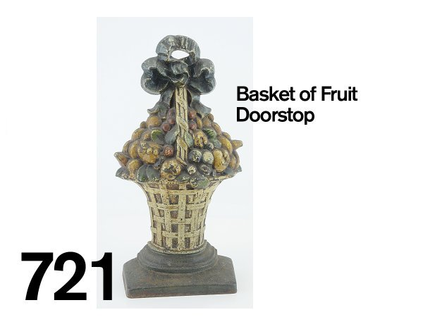 721: Basket of Fruit Doorstop