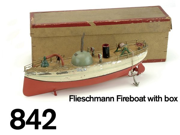 842: Fleischmann Fireboat with box