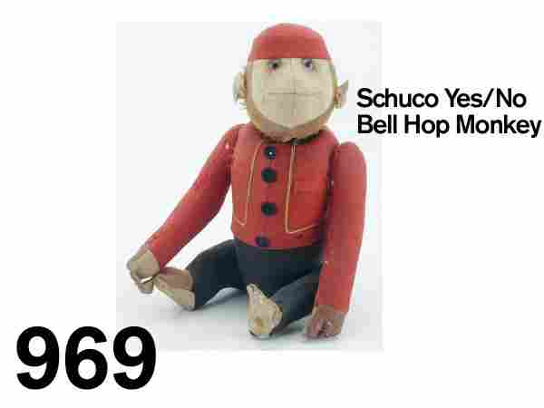 969: Schuco Yes/No Bell Hop Monkey