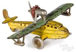 Kenton cast iron Fokker Flying Boat airplane