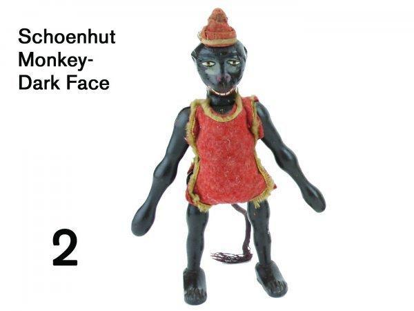2: Schoenhut Monkey-Dark Face