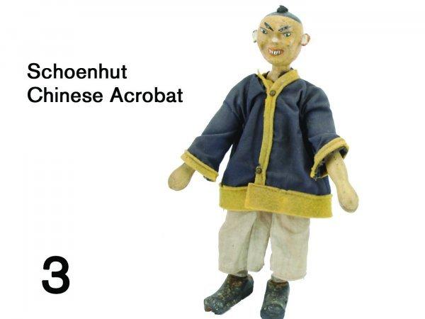 3: Schoenhut Chinese Acrobat
