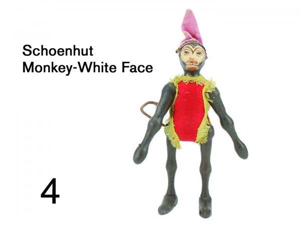 4: Schoenhut Monkey-White Face