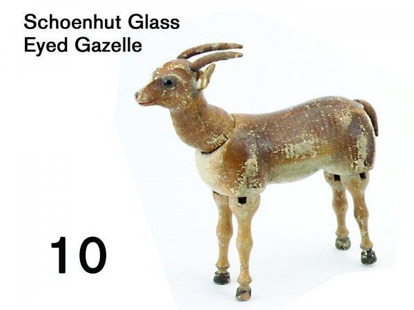 10: Schoenhut Glass Eyed Gazelle