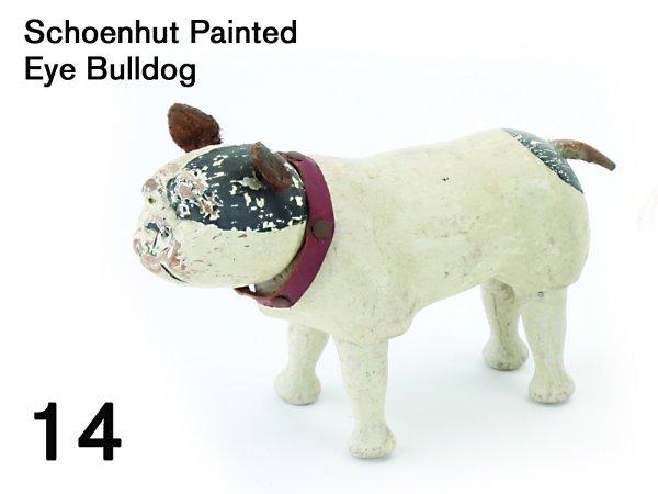 14: Schoenhut Painted Eye Bulldog