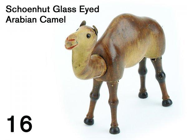 16: Schoenhut Glass Eyed Arabian Camel