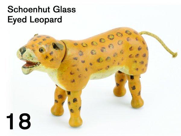 18: Schoenhut Glass Eyed Leopard