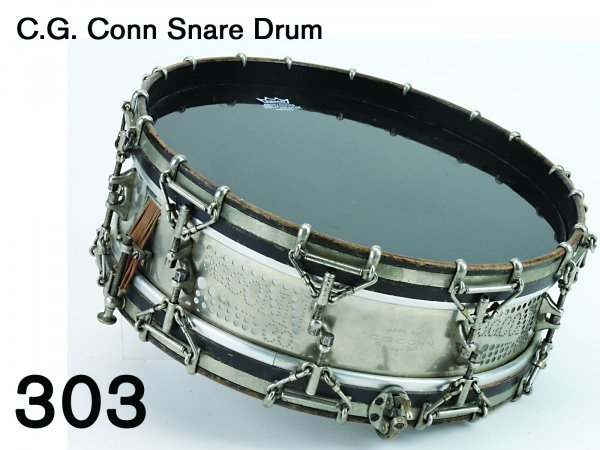 303: C.G. Conn Snare Drum