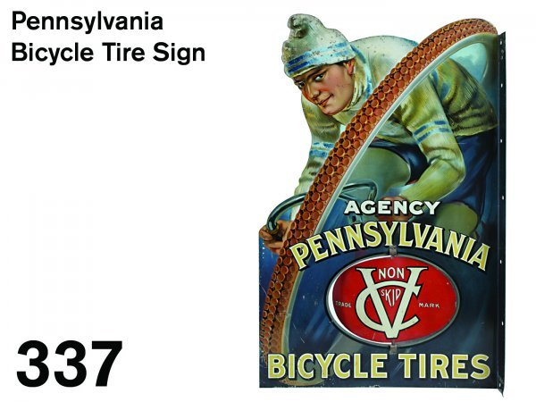 337: Pennsylvania Bicycle Tire Sign