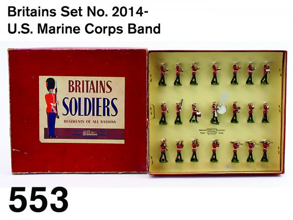 553: Britains Set No. 2014-U.S. Marine Corps Band