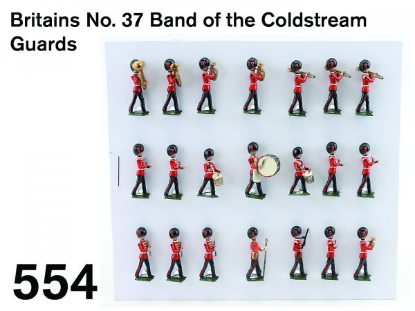 554: Britains No. 37 Band of the Coldstream Guards