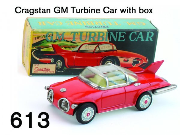 613: Cragstan GM Turbine Car with box