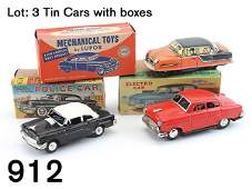 912 Tin Cars with boxes